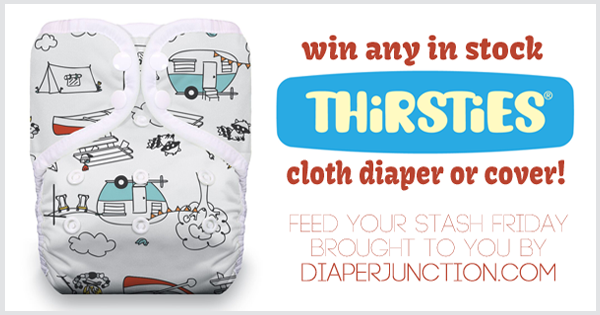 10/28/16 FYSF, Win ANY in stock Thirsties Diaper or Cover!