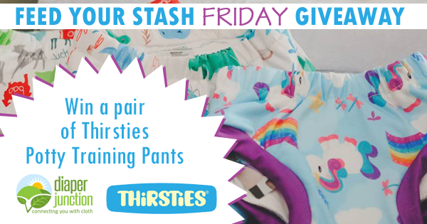 3/9/18 FYSF, Win a pair of Thirsties Potty Training Pants!