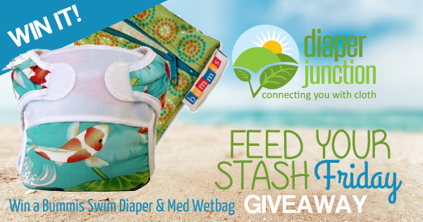 7/15/16 FYSF, Win a Bummis Swim Diaper and Medium Wetbag!