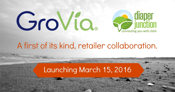 GroVia + Diaper Junction Collaboration and Reveal Event!