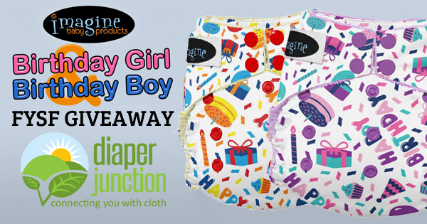9/23/16 FYSF, Win a Boy or Girl Imagine Baby Birthday Diaper!