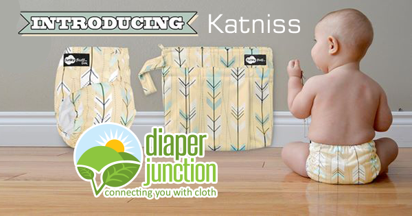 Funky Fluff's Katniss has stocked at Diaper Junction!