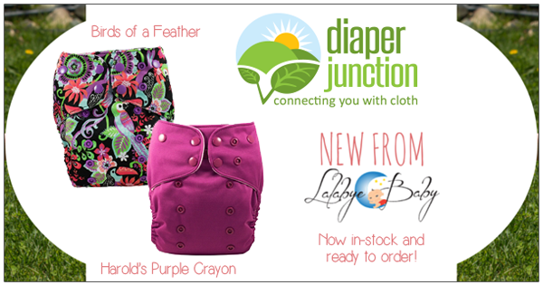 New OS Cloth Diapers just stocked from Lalabye Baby!