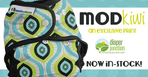 Mod Kiwi, our newest exclusive print from Best Bottoms, is in-stock!