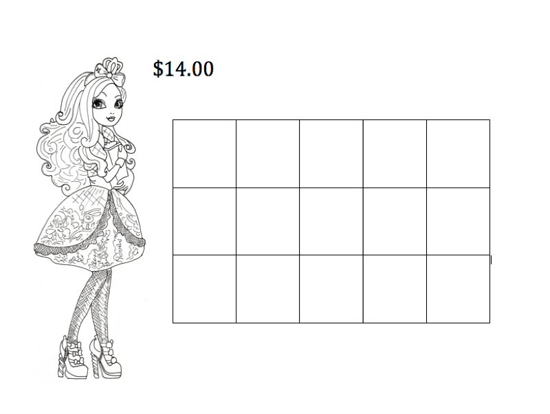 coloring page,math,preschool