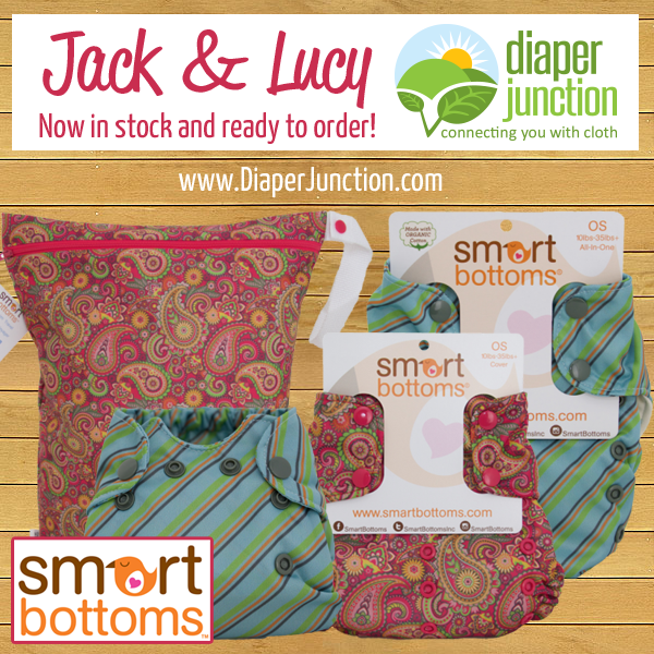 Jack and Lucy, Smart Bottoms NEWEST prints, have stocked!
