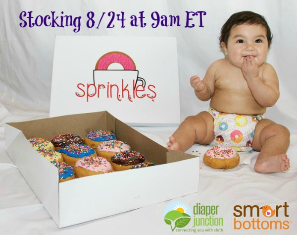 Smart Bottoms Sprinkles - Available NOW!