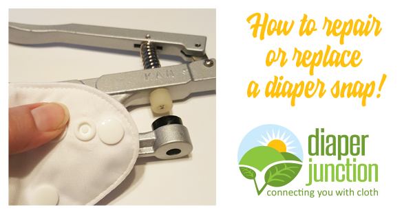 How to replace or repair a cloth diaper snap!