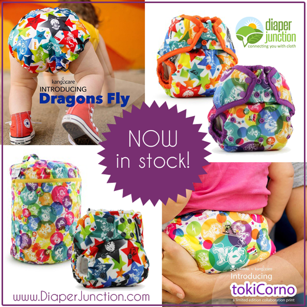 NEW from Rumparooz, Meet TokiCorno and Dragons Fly!