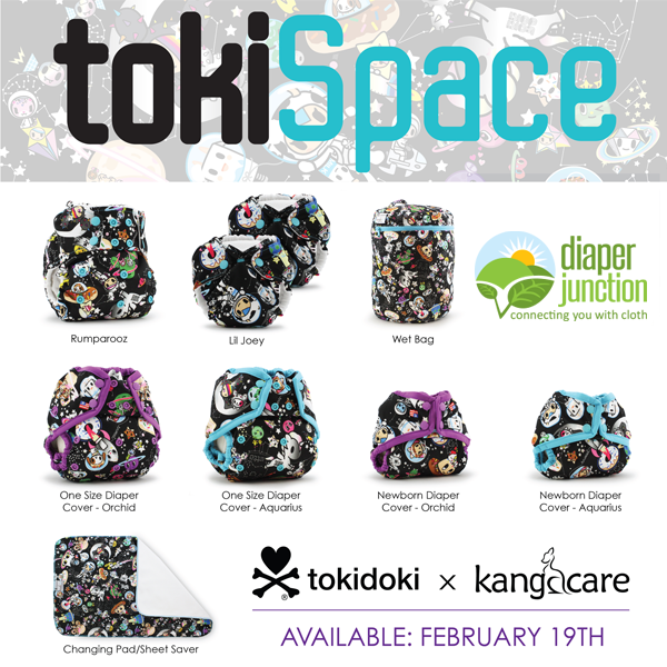 Join the WAITLIST for Rumparooz #TokiSpace Cloth Diaper Prints