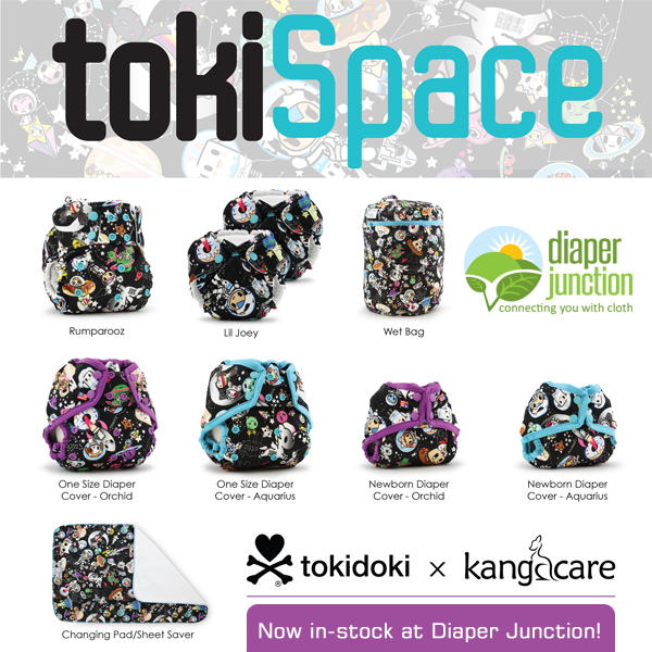 Kangacare & Rumparooz #TokiSpace Cloth Diapers are in-stock and now-shipping!