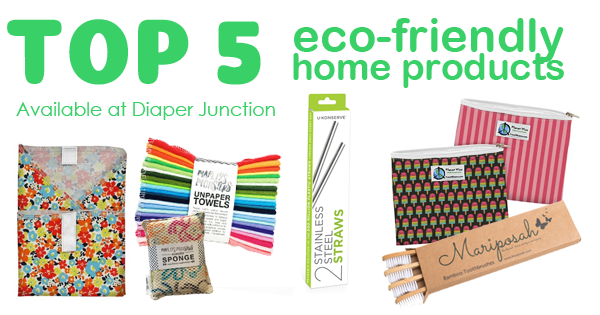Go Green with our TOP 5 Eco-Friendly Home Products!
