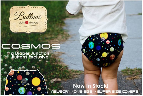 Introducing Cosmos, A New Buttons Diapers Exclusive For Diaper Junction!