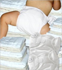 prefold diapers