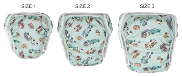 GroVia Swim Diaper 3 Sizes