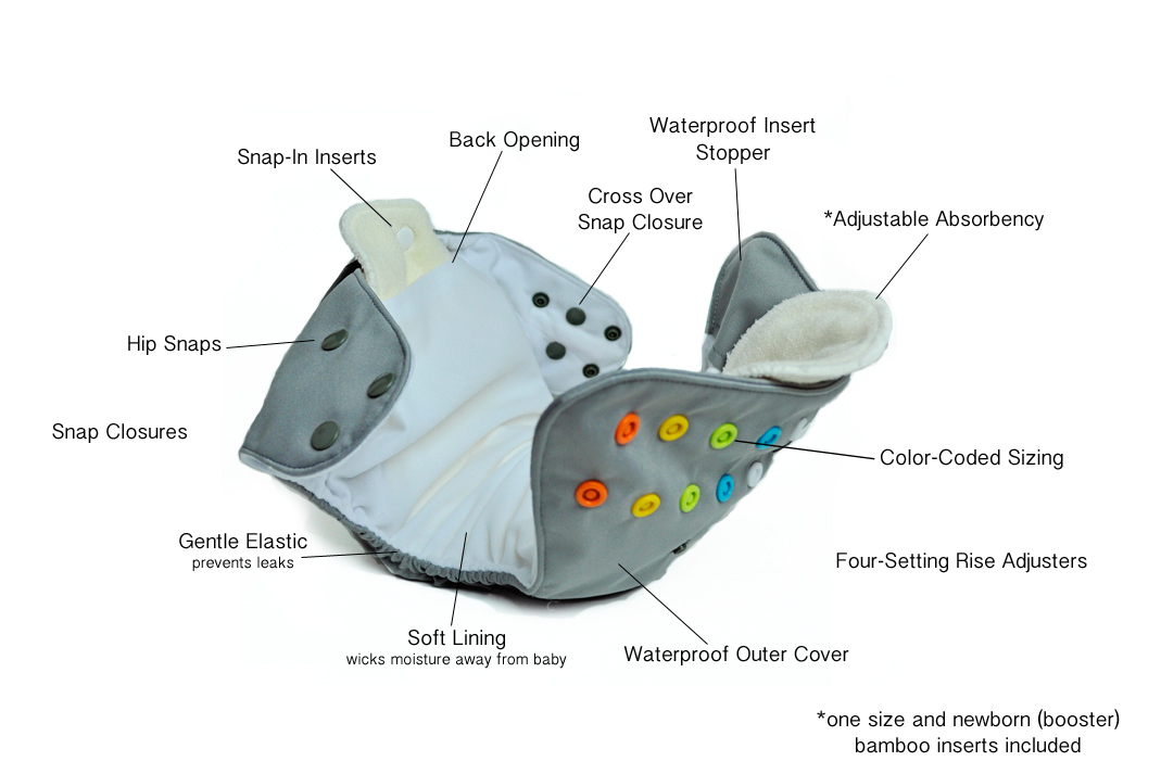 lalabye baby, cloth diapers