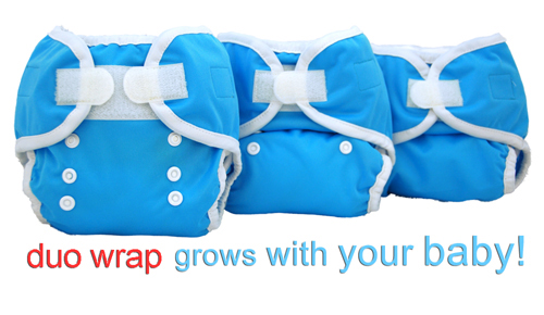 Thirsties Duo Wraps grow with your baby!