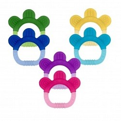 Green Sprouts Silicone Teether 2 Pack CLEARANCE