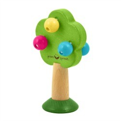Green Sprouts Wooden Tree Rattle